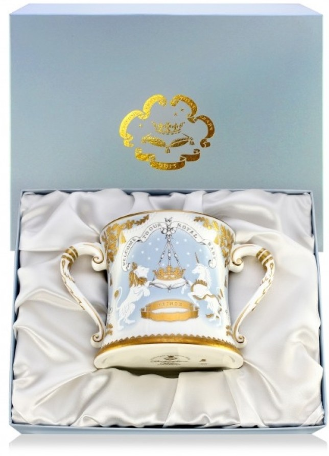 The special cup will set you back £195 (Picture: Royal Collection Trust)