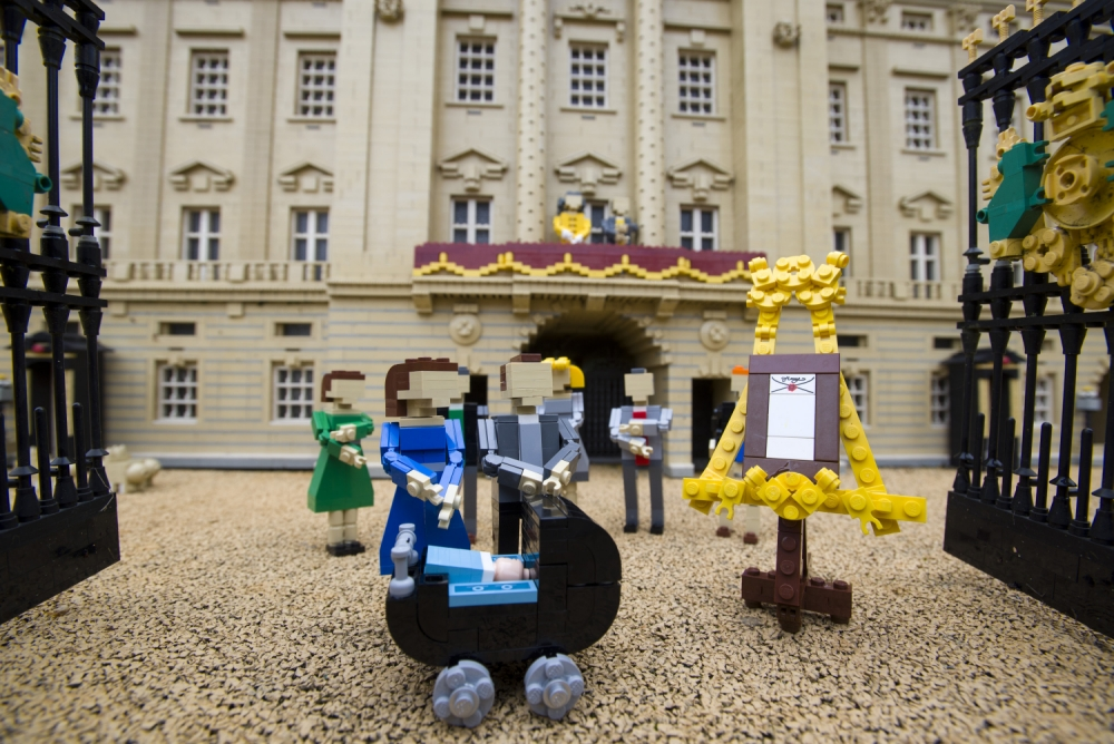 Gallery: Lego recreate the birth of royal baby Prince George