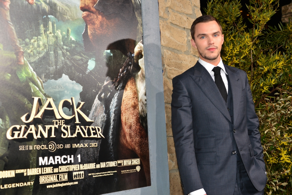 """HOLLYWOOD, CA - FEBRUARY 26:  Actor Nicholas Hoult attend the premiere of New Line Cinema's """"Jack The Giant Slayer"""" at TCL Chinese Theatre on February 26, 2013 in Hollywood, California.  (Photo by Alberto E. Rodriguez/Getty Images)"""