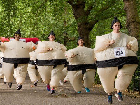 This Sunday you can run 5k dressed in a sumo suit for charity – cool, right?
