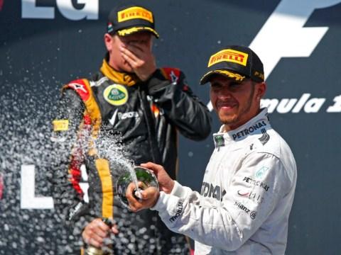 Gallery: Lewis Hamilton wins Hungarian Grand Prix