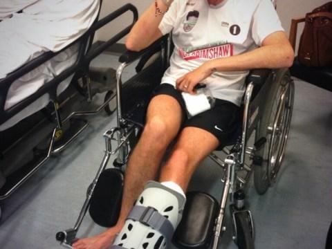 Nick Grimshaw misses Radio 1 breakfast show after hospital dash