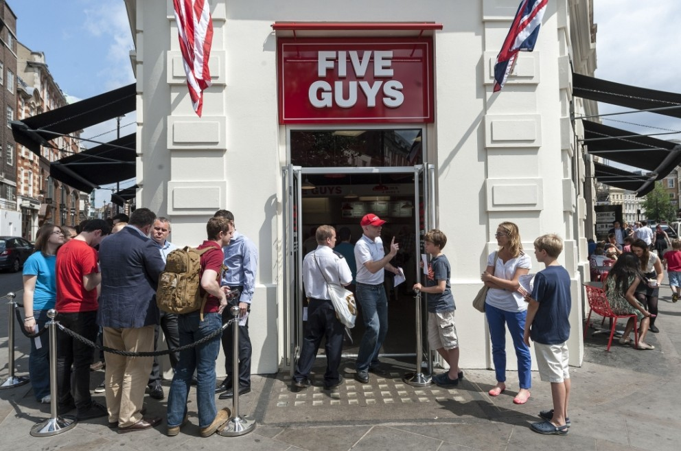 Five Guys and Shake Shack add to the 'quality burger' market – but who needs them?