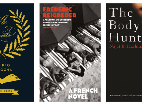 Shelfspace – Translated Novels: Najat El Hachmi, The Body Hunter, A French Novel, Frédéric Beigbeder, The Parrots, Filippo Bologna