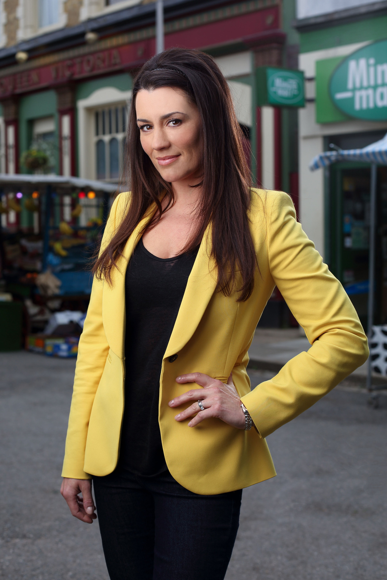 Kate Magowan joins Eastenders as the headstrong and mysterious Sadie Young (Picture: BBC)