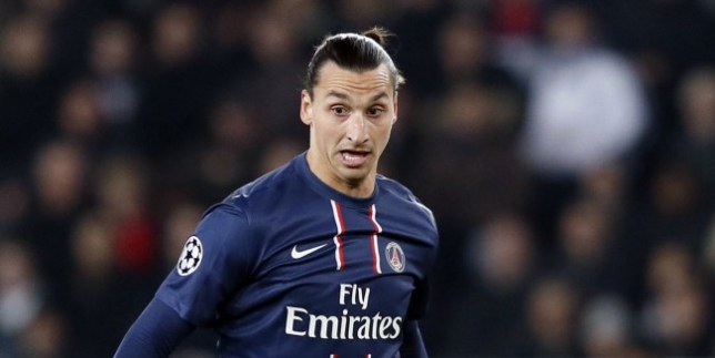 Target man targeted: Ibrahimovic would be a perfect fit for a Manuel Pellegrini blueprint. (Picture: Getty)