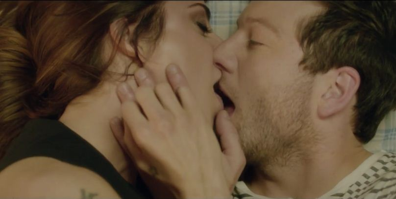 Matt Cardle and Melanie C make out in new video for Loving You