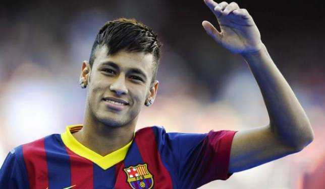 Minted: A leaked document has revealed that Neymar and his dad made a killing on his Barcelona transfer. (Picture: Getty)