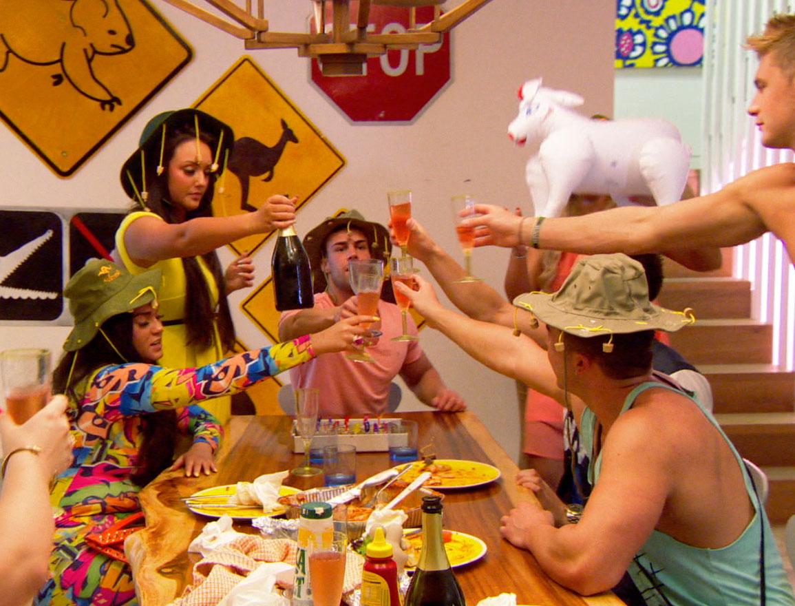 Geordie Shore cast let loose for Jay Gardner's birthday Down Under