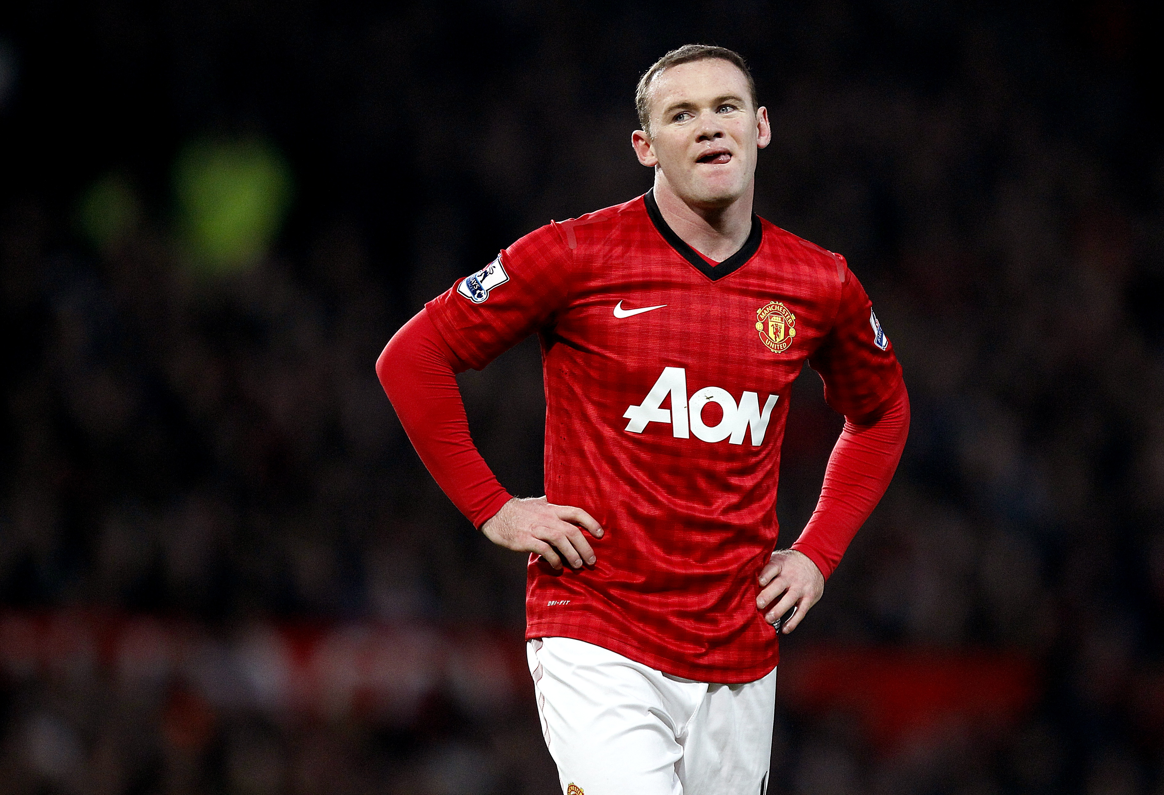 Wayne Rooney will remain a Manchester United player according to David Moyes (Picture: PA)