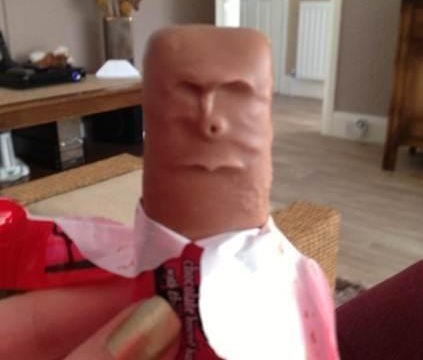 Could this be the angriest chocolate bar on the planet?