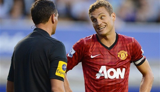 Left out: Vidic has been omitted from United's pre-season travels. (Picture: Getty)