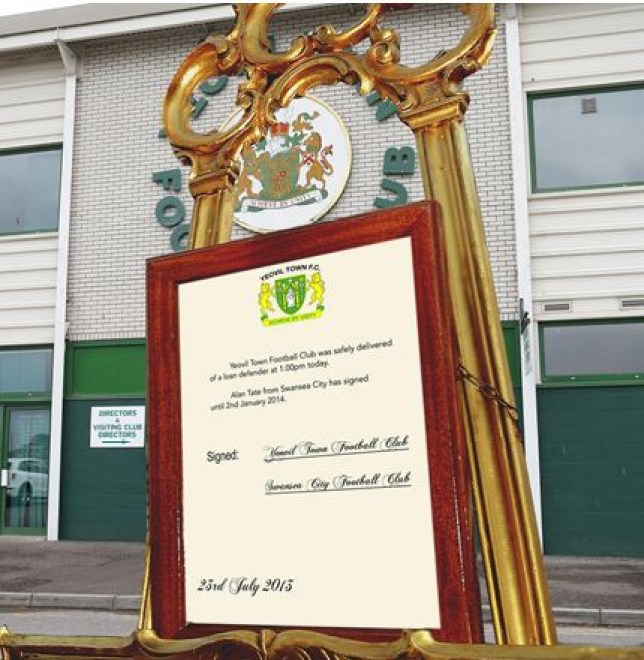 Yeovil didn't receive quite as big a crowd outside Huish Park as waited outside Buckingham Palace last night (Picture: twitter)
