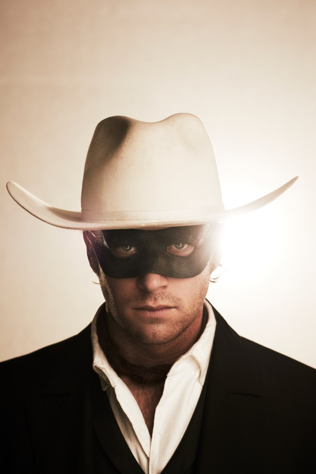 Armie Hammer plays the new Lone Ranger (Picture: Peter Mountain ©Disney 2013)