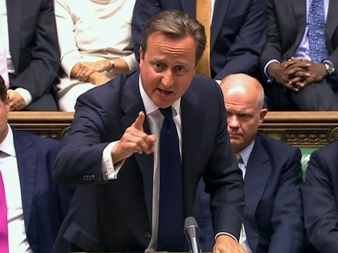 Syria: David Cameron still wants 'robust response' to chemical weapons attack