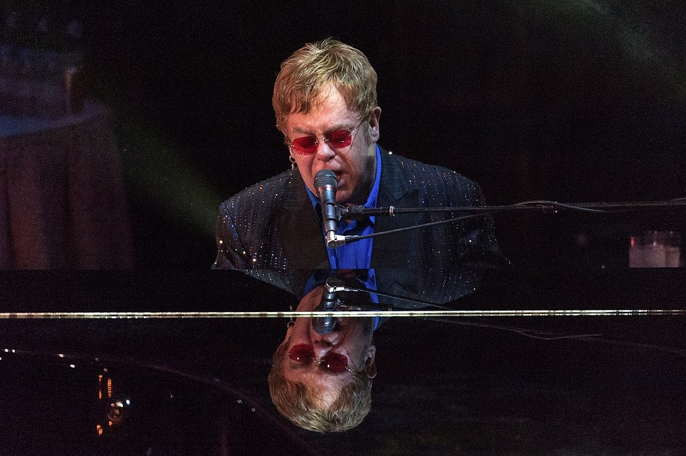 Sir Elton John hailed for career sales. Pic: Getty Images