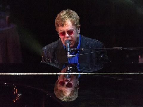 Sir Elton John 'thrilled' as Bill Clinton and stars hail him as Brits Icon