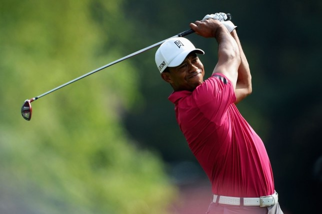 In the hunt: Woods is in good form ahead of this week's PGA  Championships (Picture: (Getty)