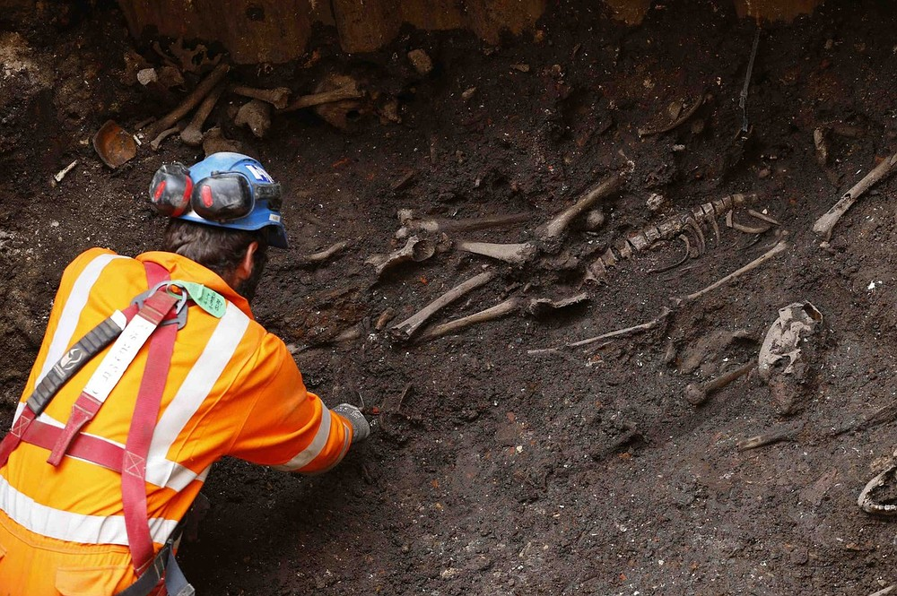 Crossrail project unearths prehistoric workshop and 16th-century burial ground