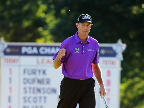 Jim Furyk one clear of Jason Dufner going into final round of US PGA