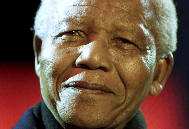 The South African government has condemned a hoax picture of Nelson Mandela (Picture: Reuters)