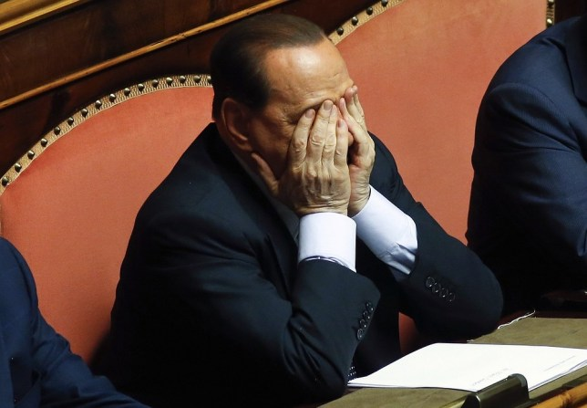 Silvio Berlusconi has lost the last of his appeals against a jail sentence for tax fraud (Picture: Reuters)