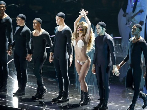 Shells and starfish? Has Lady Gaga gone a bit… wet?