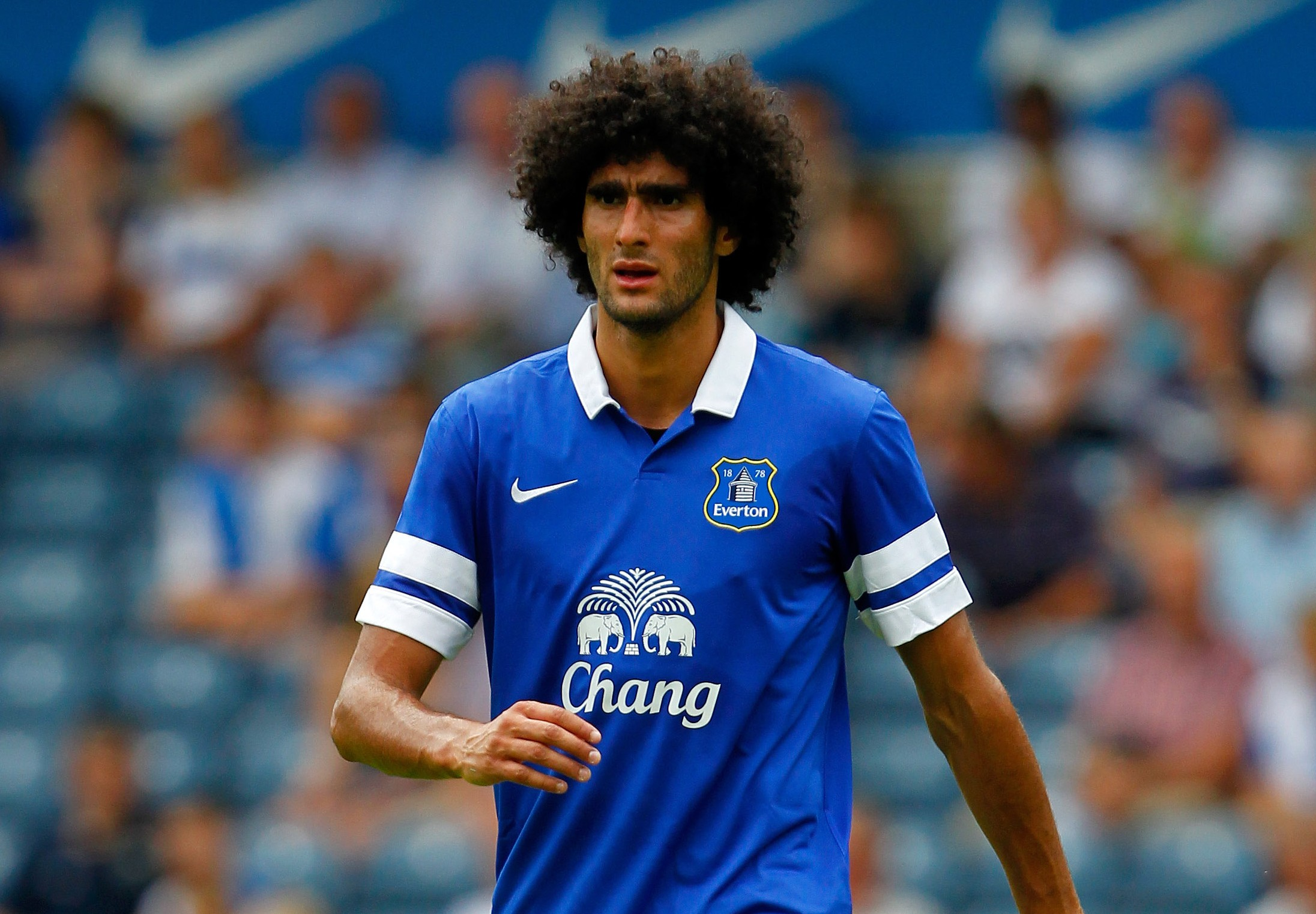 Re-United: Fellaini is set to hook up with his old boss David Moyes again (Picture: Getty)