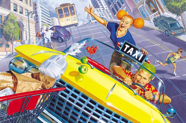 Crazy Taxi – turn-based gameplay