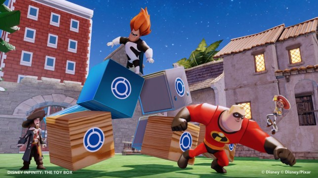 Disney Infinity (360) – for just an additional £15 you too can play as… that guy out of The King's Speech