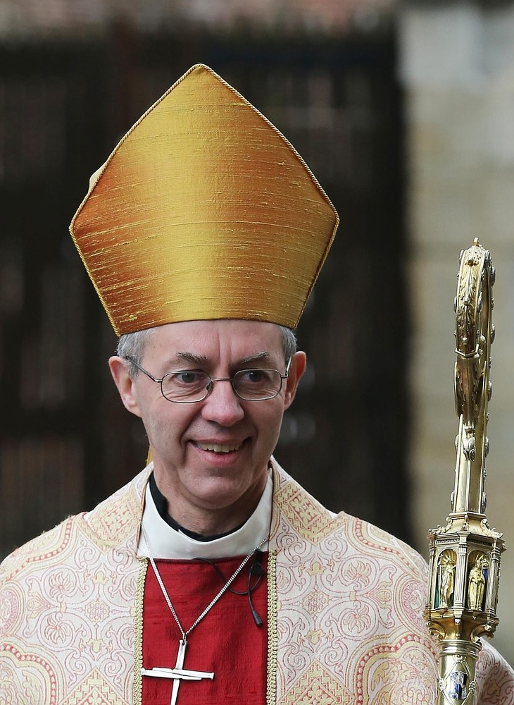 Archbishop of Canterbury urges Christians: Repent on homophobia