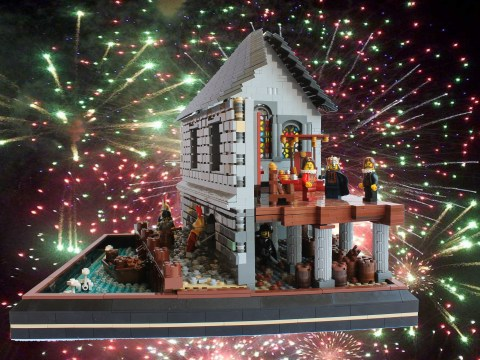 The top 10 moments from British history, recreated in Lego