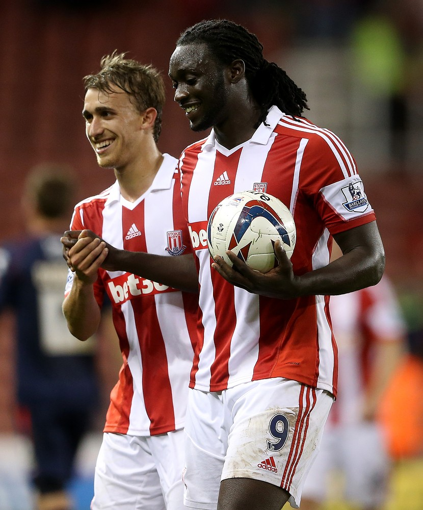 Kenwyne Jones bags a hat-trick and shows he's not ready to leave Stoke just yet