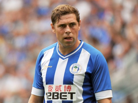 Grant Holt: Wigan are confident of beating Manchester United in the Community Shield