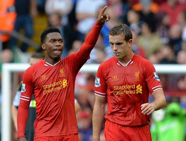 Liverpool's English forward Daniel Sturr
