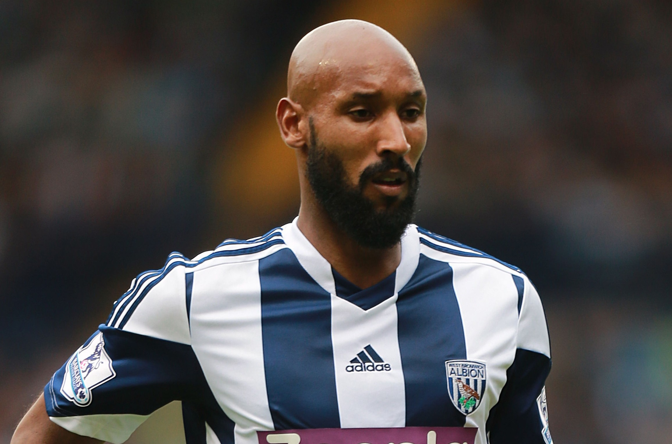 Top player: West Brom have signed Nicolas Anelka but few other stars (Picture: AP)