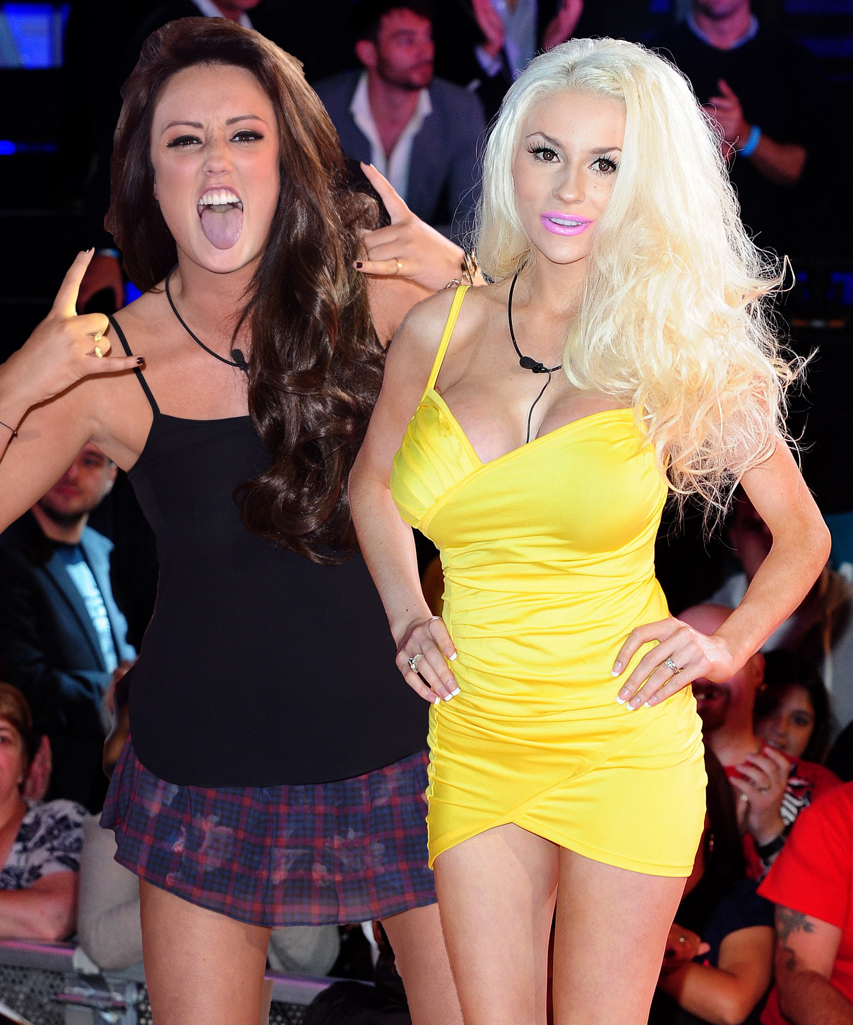 Face off: Charlotte Crosby vs Courtney Stodden, the latest Celebrity Big Brother housemates