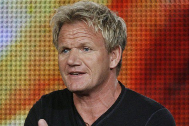 Chef Ramsay, star of new program Gordon Ramsay: Cookalong Live, discusses show at press tour in California