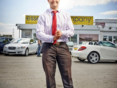 The Dealership was a nostalgic trip to mouth-and-trousers men