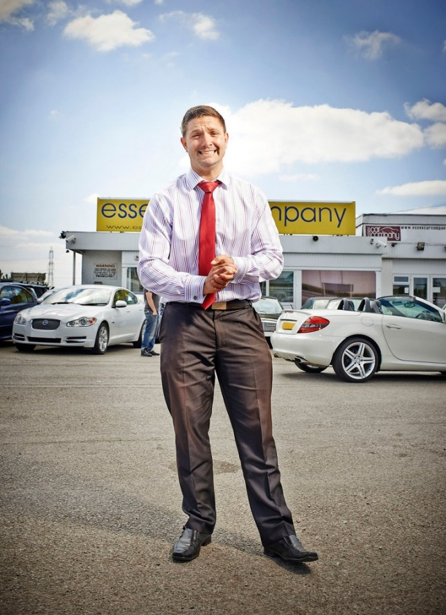 Car dealer James (Picture: Phil Fisk)