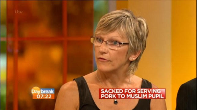 Alison Waldock: Dinner lady sacked for serving pork to Muslim girl