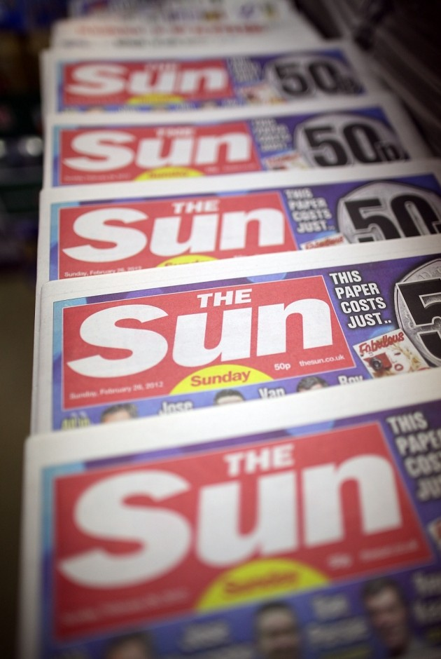 Irish Sun decides boobs aren't news and drops topless models from Page 3