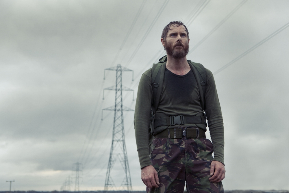 Sean Harris plays twitchy loner Stephen in Southcliffe (Picture: Channel 4)