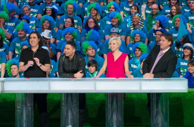 I Love My Country starring Micky Flanagan, Ricky Norwood, Helen George and James Martin (Picture: Avalon/BBC)