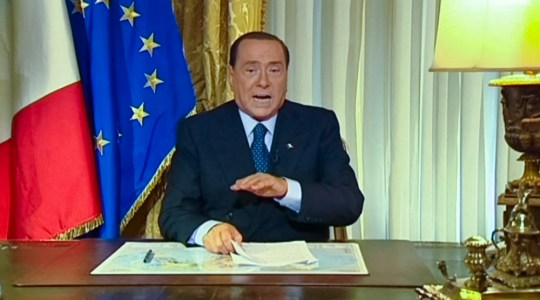 Silvio Berlusconi hits out at 'baseless' fraud conviction – video