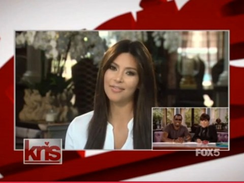 Kim Kardashian returns to the spotlight on Kris Jenner's TV show after seven weeks in hiding