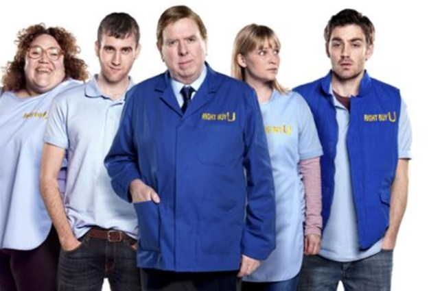 Programme Name: The Syndicate - TX: n/a - Episode: n/a (No. 1) - Embargoed for publication until: 20/03/2012 - Picture Shows:  Denise (LORRAINE BRUCE), Jamie (MATTHEW LEWIS), Bob (TIMOTHY SPALL), Leanne (JOANNA PAGE), Stuart (MATTHEW McNULTY) - (C) Rollem - Photographer: Rachel Joseph