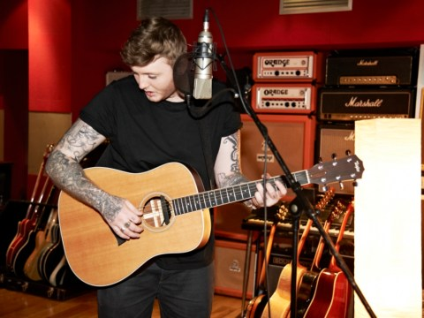X Factor's James Arthur releases tame studio teaser