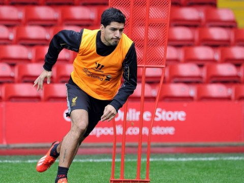 Luis Suarez cheered again during Liverpool opening training session