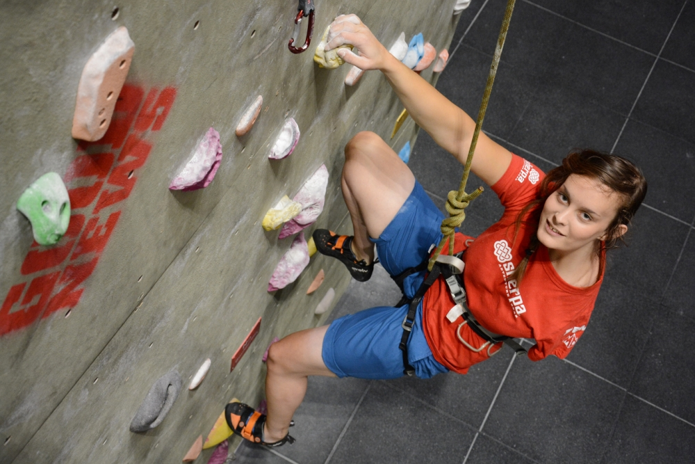 York teen becomes first one-armed person to join GB paraclimbing team